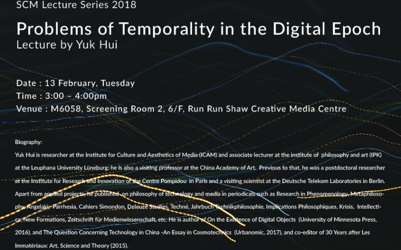 Problems of Temporality in the Digital Epoch
