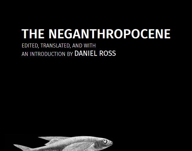 New publication: The Neganthropocene