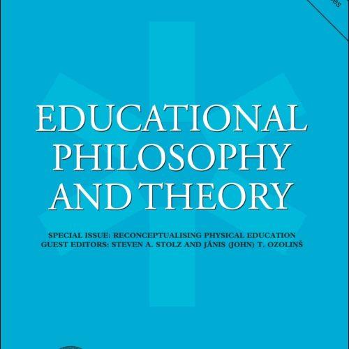 CFP:贝尔纳·斯蒂格勒作为教育哲学家